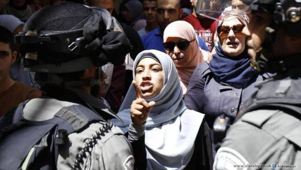 La mosquée Al-Aqsa prise d'assaut par les soldats sionistes 4