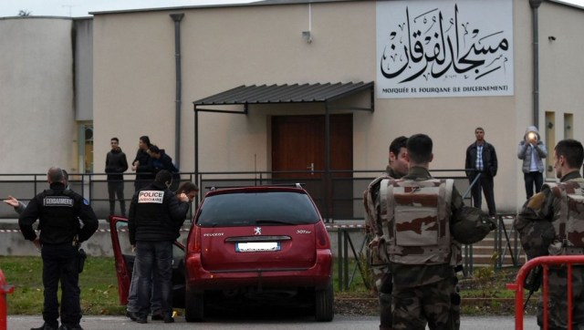 Tirs à la mosquée de Valence