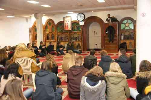 60 lycéens belges ont visité la grande mosquée de Lille 3