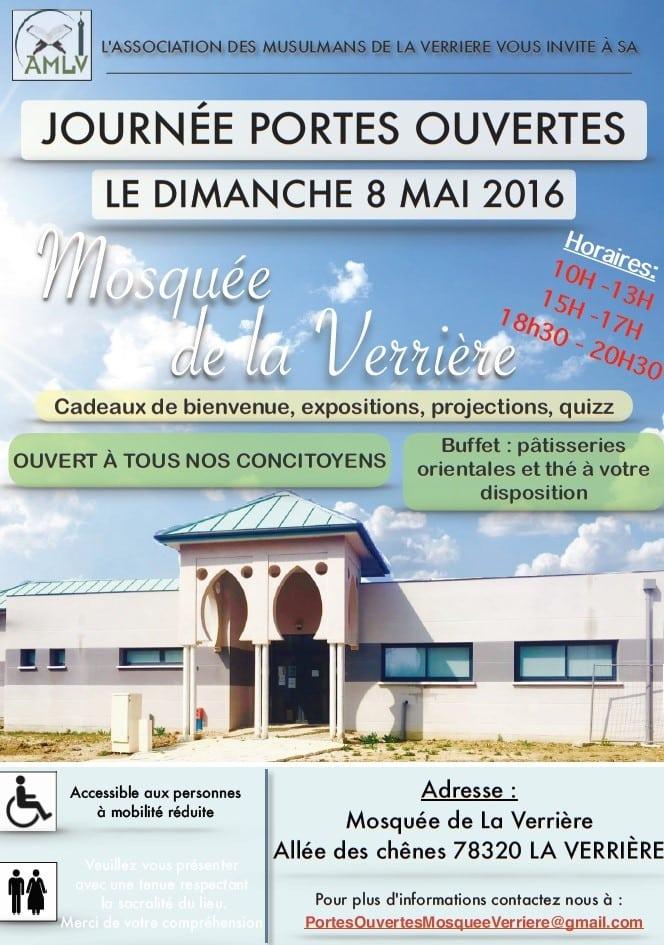 Portes ouvertes à la mosquée de La Verrière