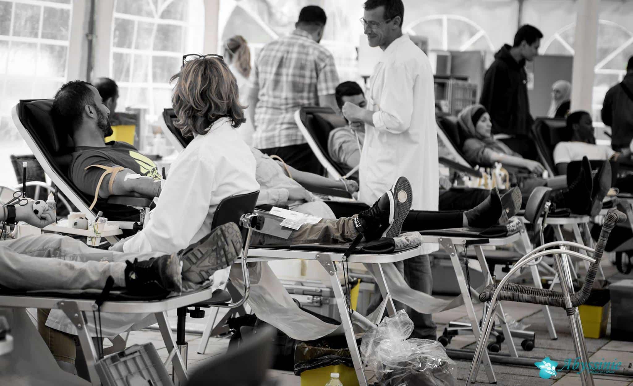 Don du sang à la grande mosquée de Strasbourg 17