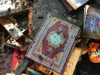 Mosquee de Berlin attaquee