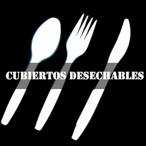 CUBIERTOS DESECHABLES