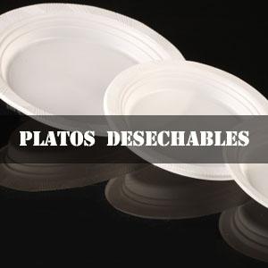 PLATOS DESECHABLES