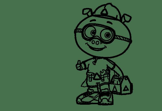 Super Why Desenhos Para Colorir E Pintar Do Discovery Kids