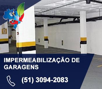 IMPERMEABILIZAÇÃO DE GARAGENS