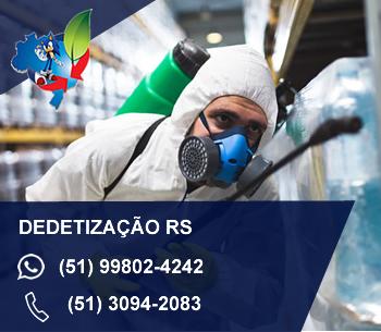 empresa de dedetização rs