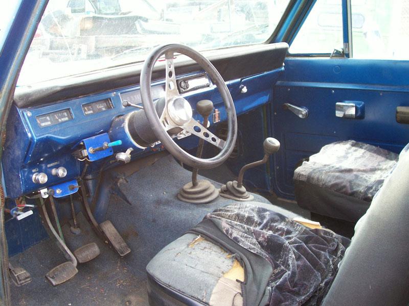 1974 Ihc International Scout Ii 4x4 Pickup Snow Plow For Sale