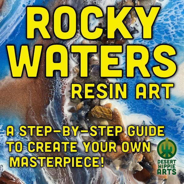 Rocky Waters Resin Ocean Art 1