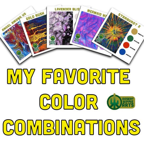 top 5 color combinations Desert Hippie Arts