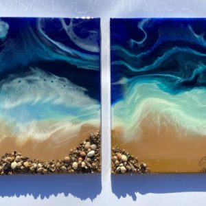 resin art Life's a Beach
