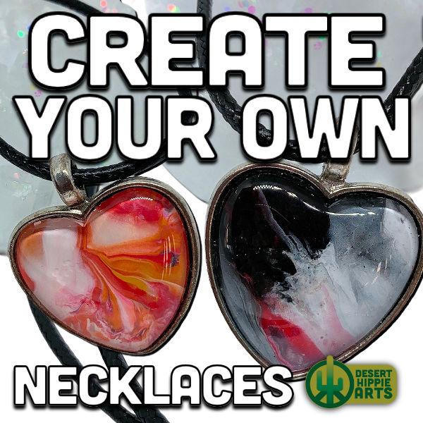 Create your own NECKLACE Desert Hippie Arts 1