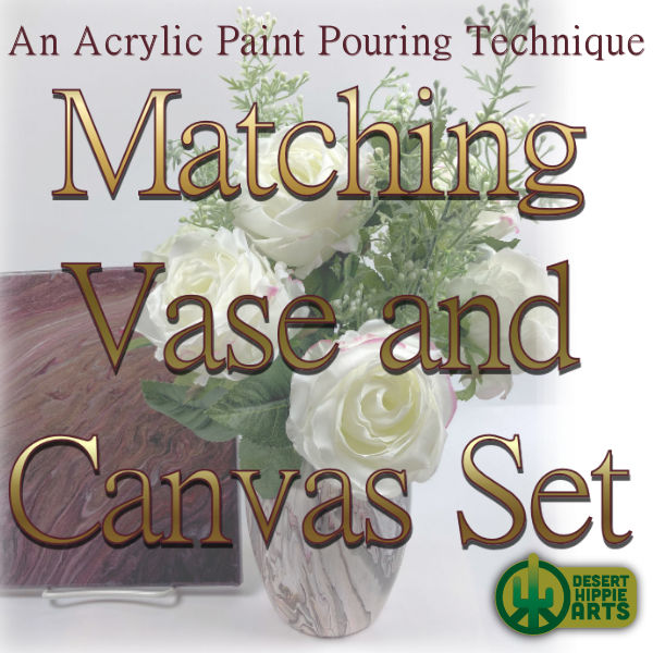 Vase and Canvas set