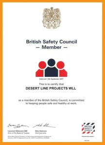 BRITISH SAFETY COUNCIL MEMBER