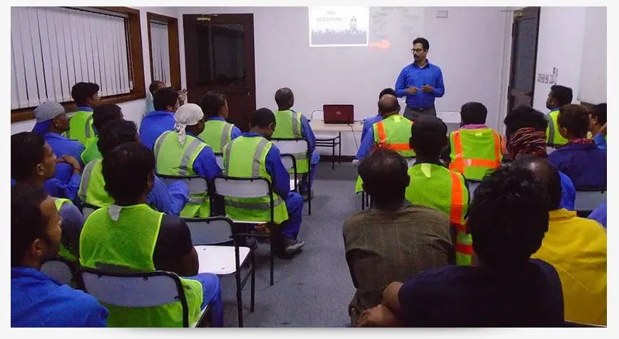 SAFETY TRAINING CLASS ROOM