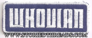 Storied Threads - Whovian Patch