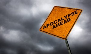 Apocalypse Road Sign