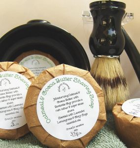 Flaherty Naturals Shave Soap