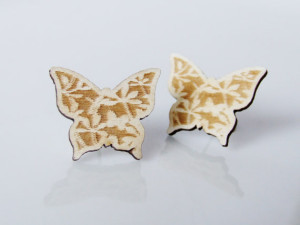 January 2015 TC - UUJ - Butterfly Earrings