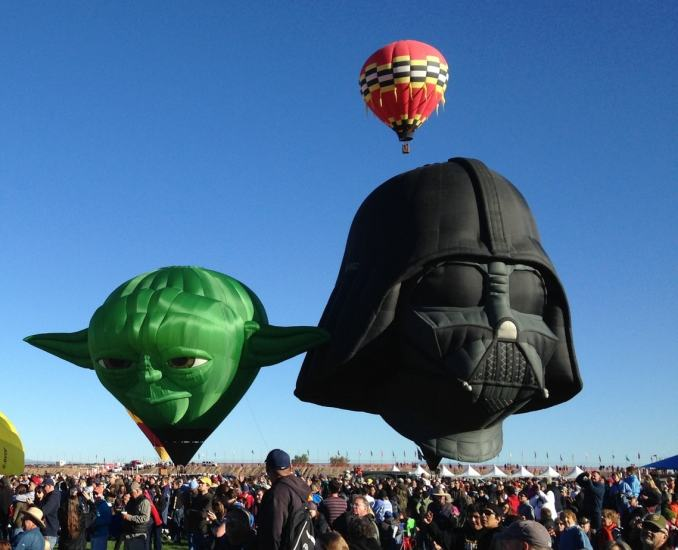 Albuquerque International Balloon Fiesta 2015 - darth-yoda
