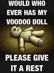 Chronic Pain - Voodoo Doll