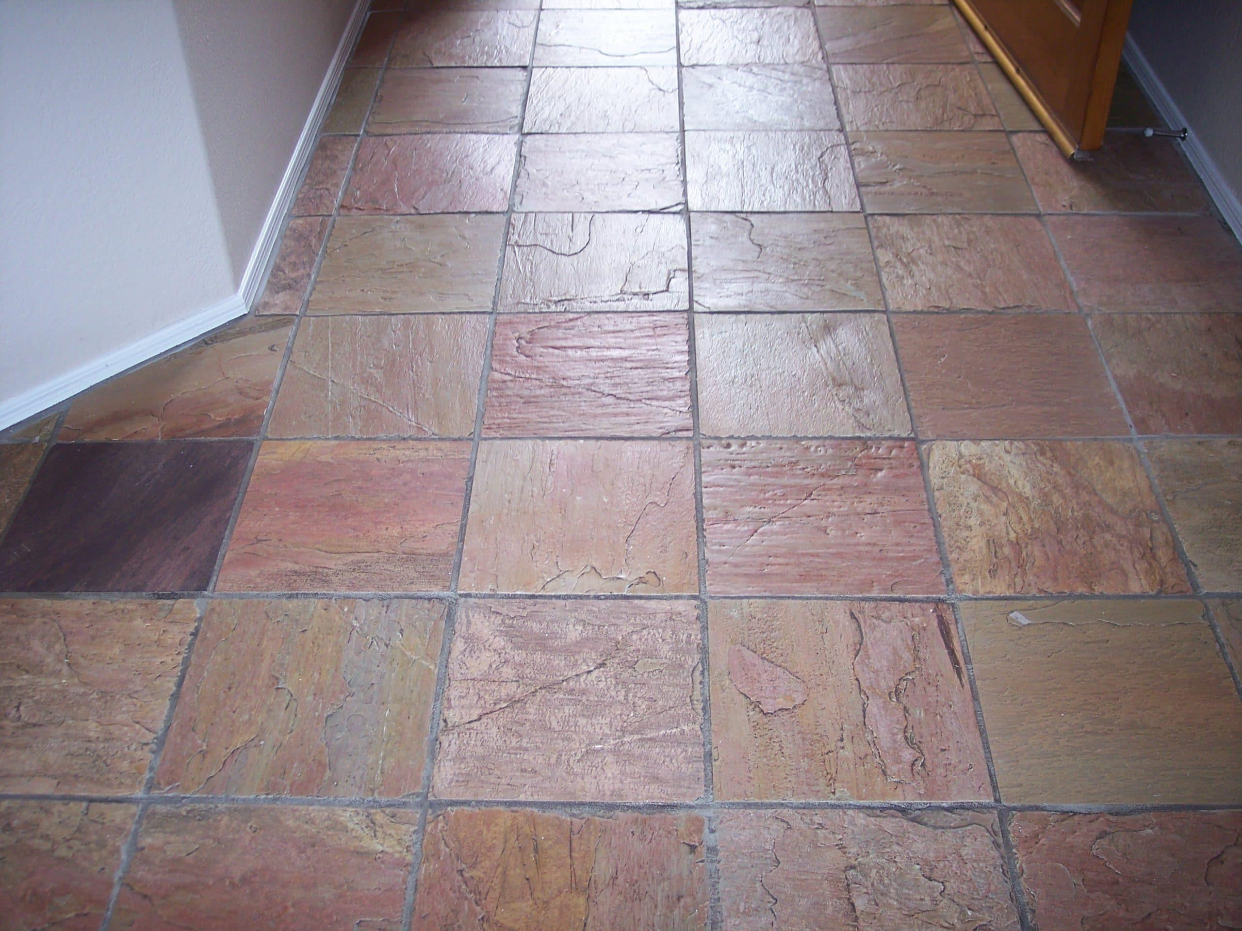 slate stone tile cleaning desert