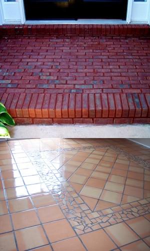 exterior tiles in mesa desert tile