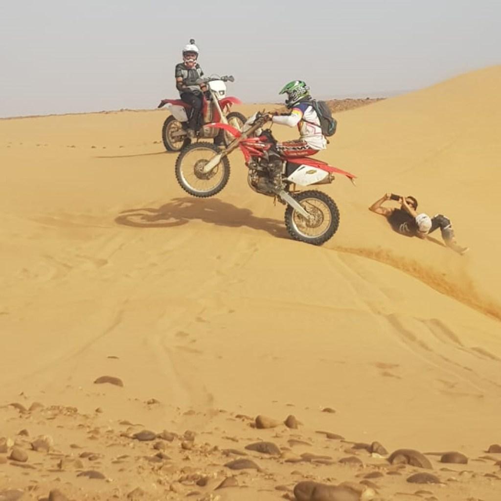 morocco desert KTM motorbike trip adventures