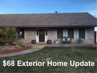 DIY $68 Exterior Home Update