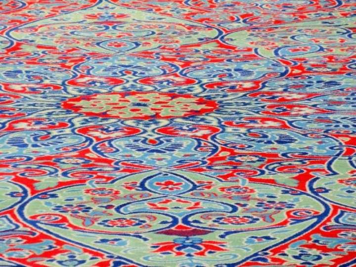 Sol de la Mosquée Bleue