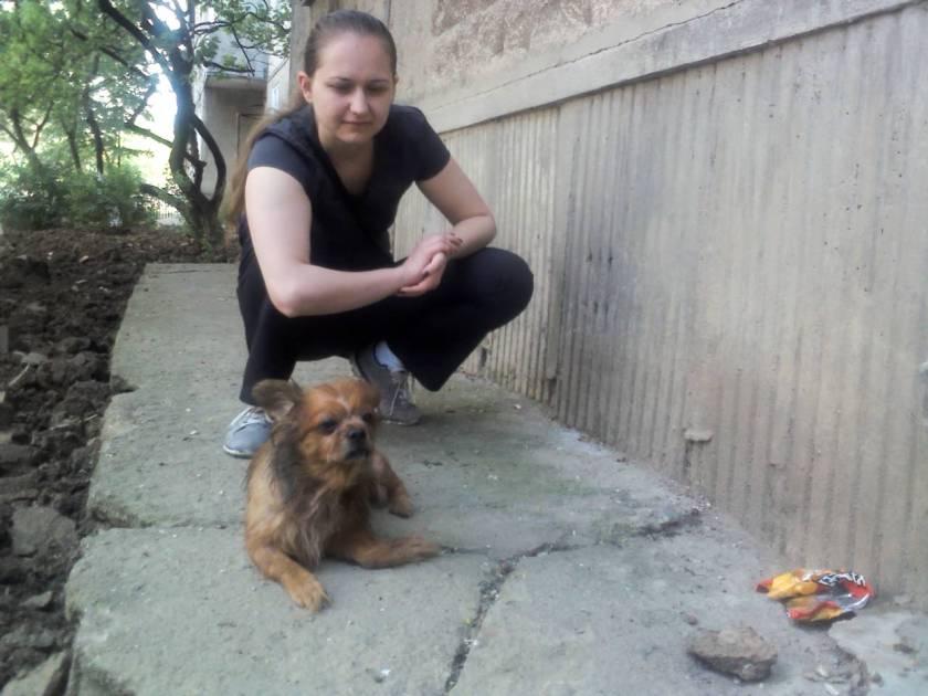 Piky avec Monica (28 avril 2013)