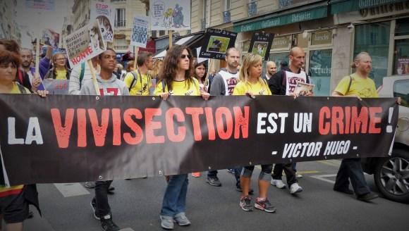 Mézilles Grande Manifestation unitaire contre la vivisection - Paris 2015