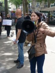 Schuchai Zhu et Christophe Lepretre_Stop Yulin (Paris-juin 2016)