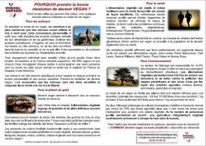 Tract IC - militants végans à Auxerre