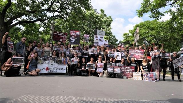 Action anti-Yulin 2017 à Paris - Photo de groupe (01 juin 2017)