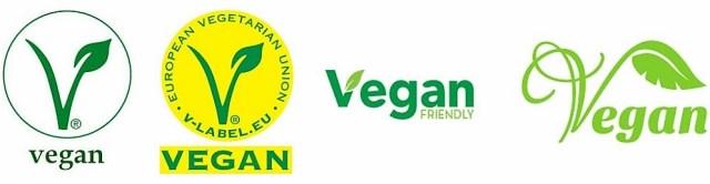 Bandeau logos vegan - devenir vegan - actions véganes