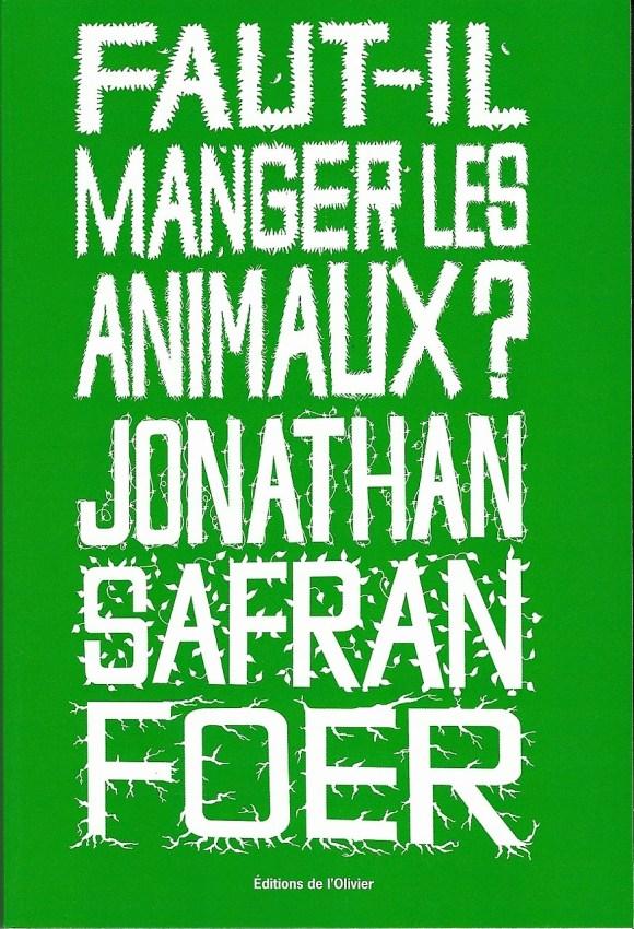 Foer_1 - livres animalistes