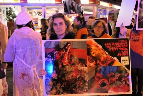 Halloween Paris 2017 - Action L214