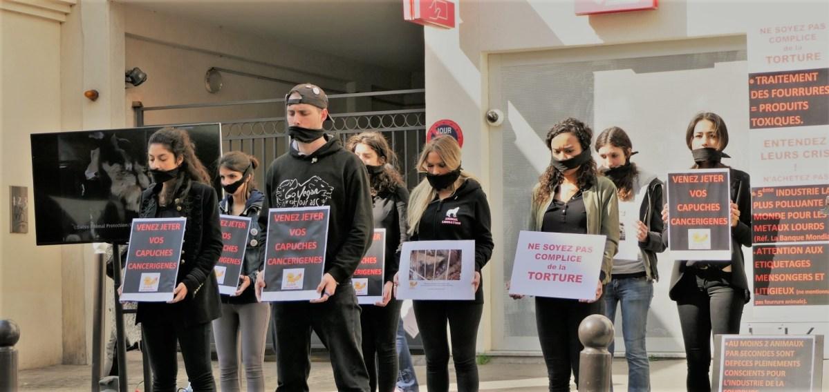 Manifestation anti-fourrure Zapa_25 mars 2017