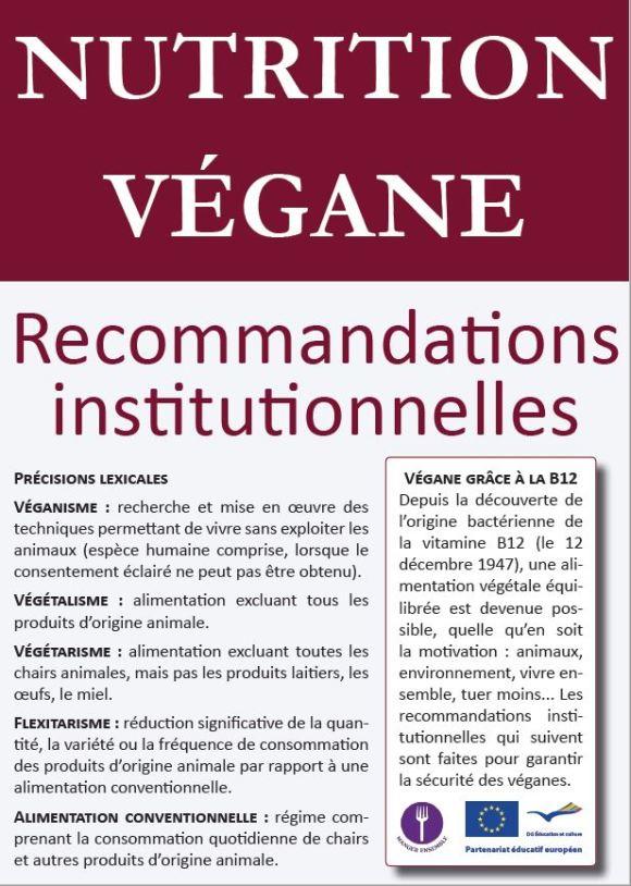 nutrition végétalienne