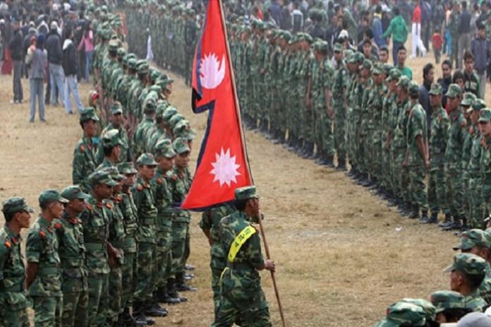 ভারত সীমান্তে নেপালের সেনা মোতায়েন