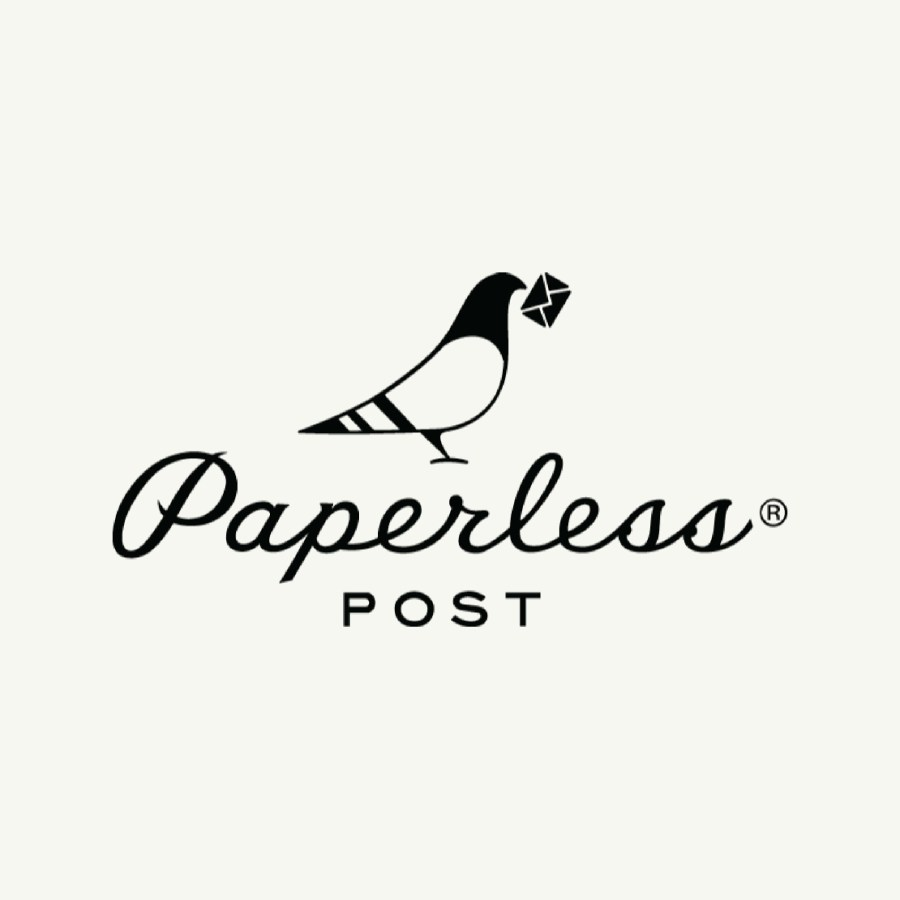 Logo of online invitation website - Paperless Post