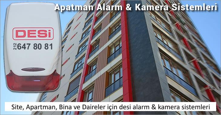 Site Apartman Bina Daire Alarm ve Kamera Sistemleri