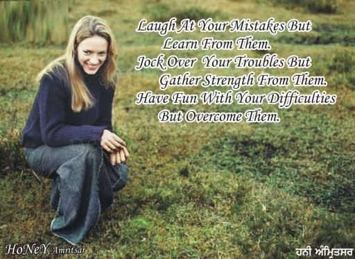 good morning Dawn-great post about overcoming the negatives in life and