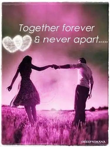 Together Forever Amp Never Apart