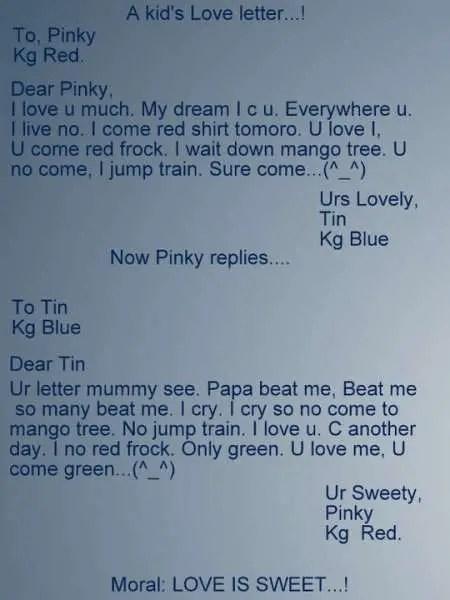 Love Letter Punjabi
