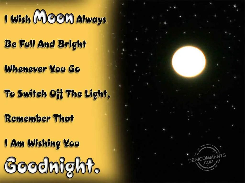 Wishing You A Good Night