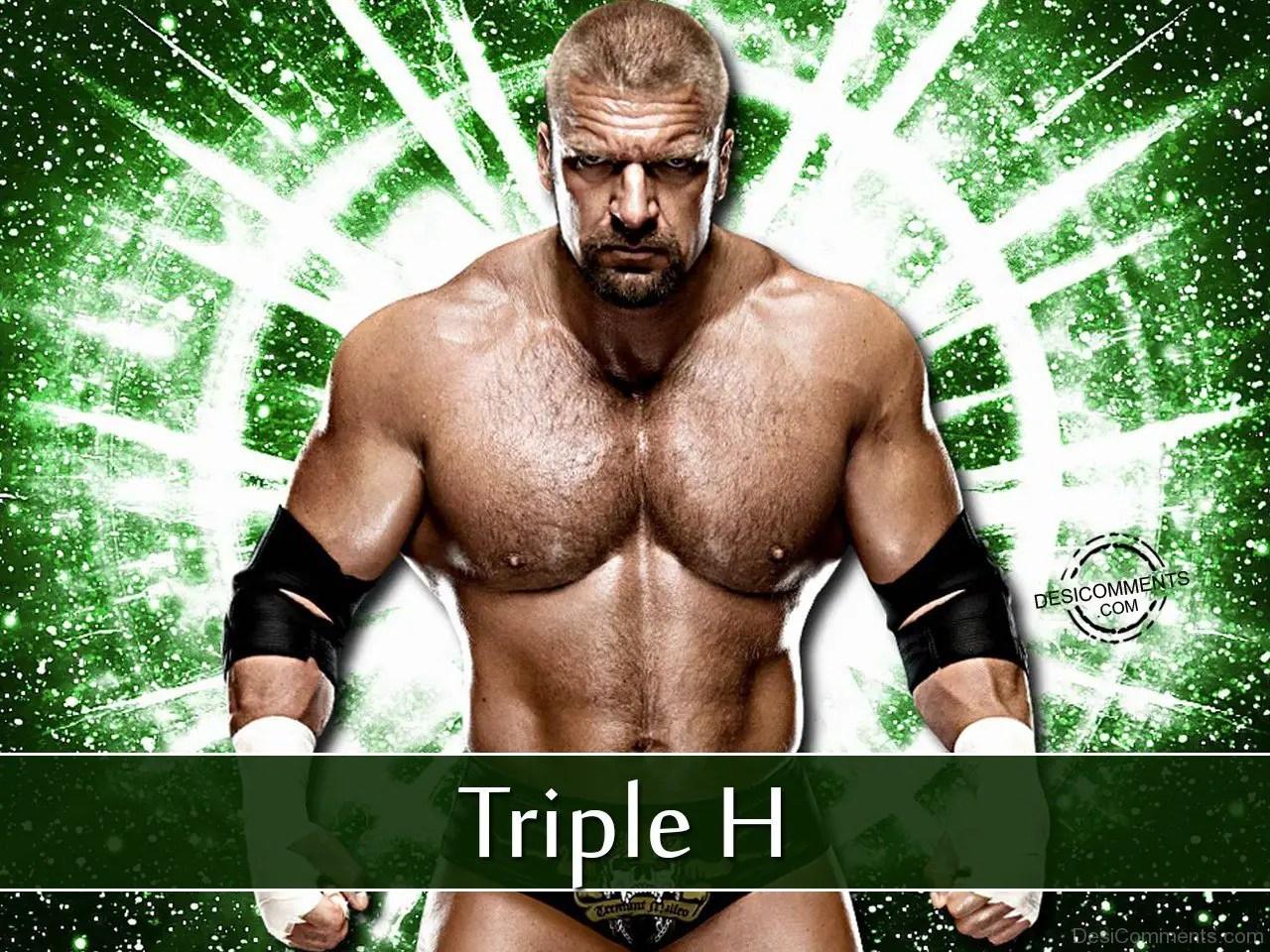 Wwe Champion Triple H