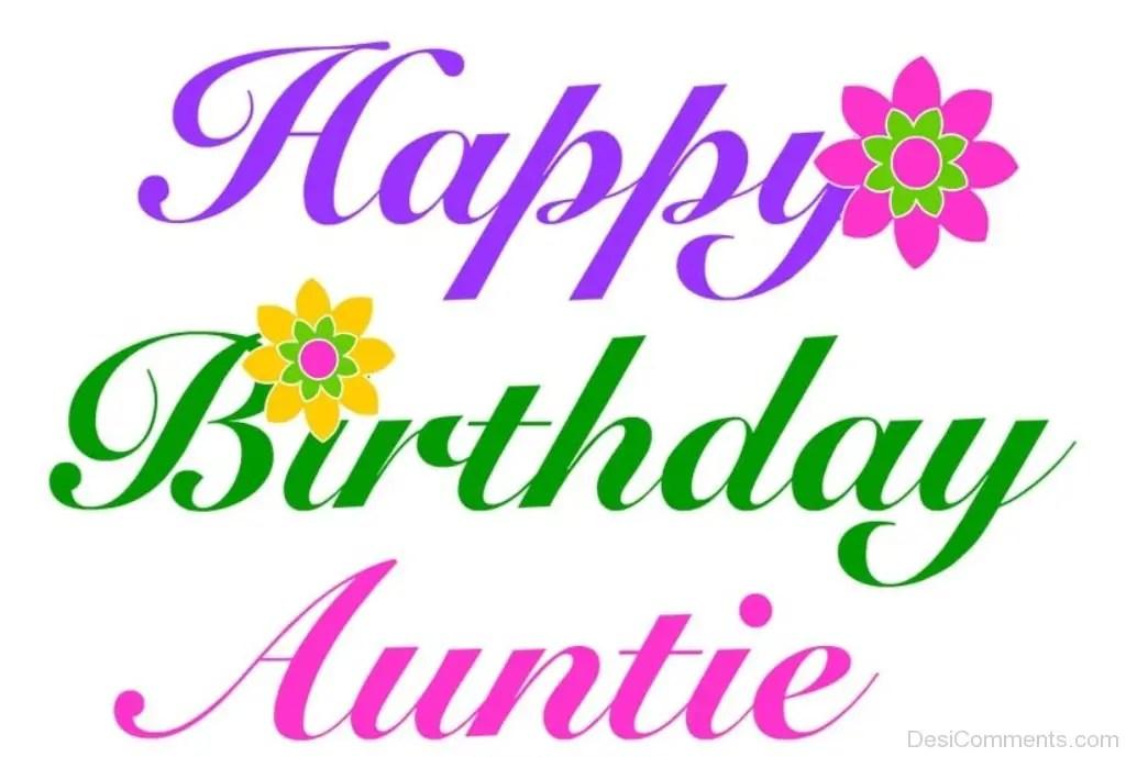 Happy Birthday Auntie Desicomments Com