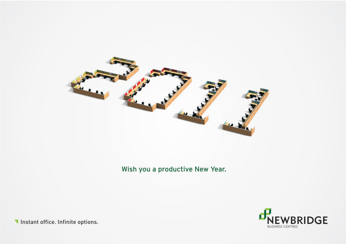 20 Most Creative New Year Advertisements 1 Design Per Day